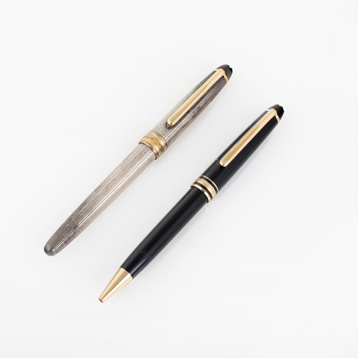 A Pair of Montblanc Ballpoint Pens