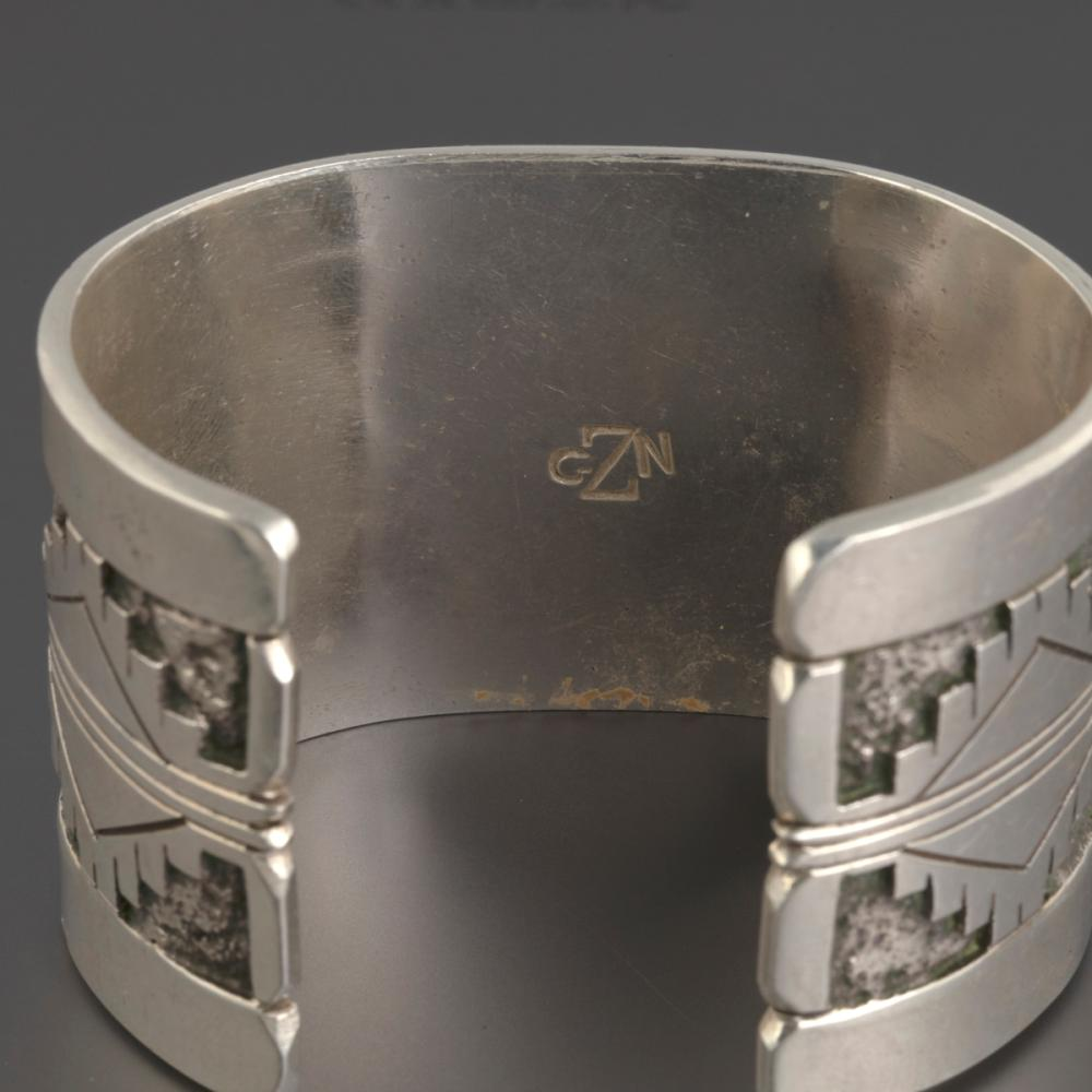 A Gibson Nez Silver Cuff Bracelet