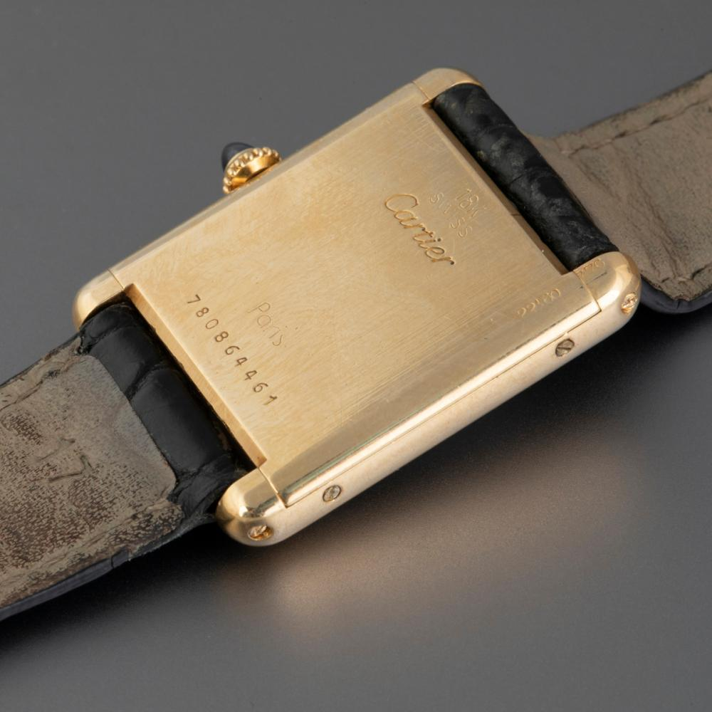 Cartier Louis Tank Gold Wristwatch