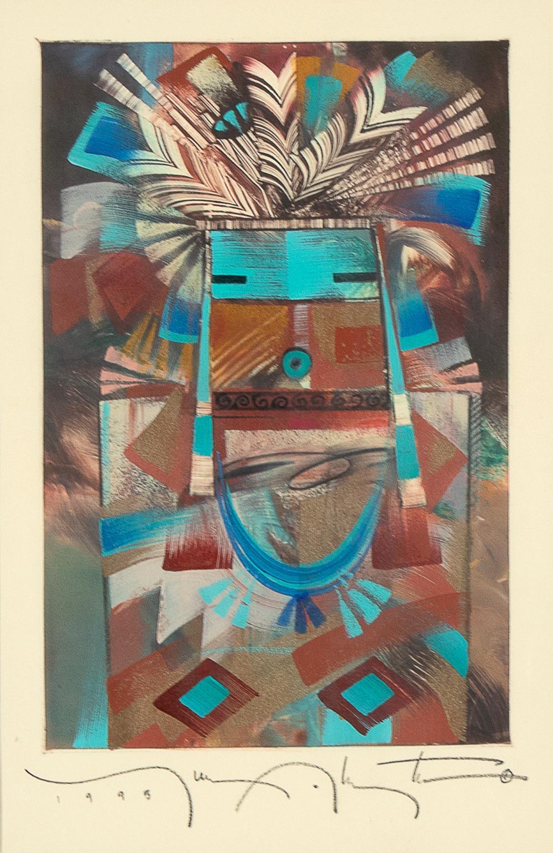 Tony Abeyta, Untitled (Kachina Figure), 1995