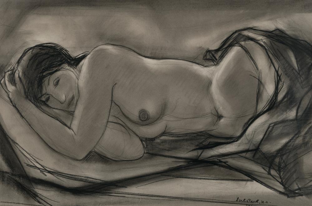 Doel Reed, Nude in Repose, 1969