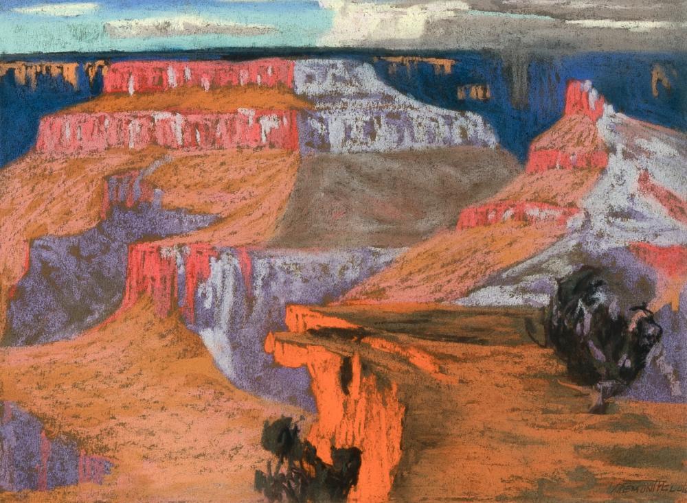 Fremont Ellis, Sunset - Grand Canyon, Arizona