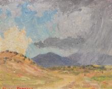 S. PARSONS - Untitled (New Mexico Landscape)