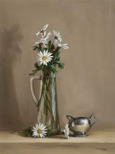 William Acheff, Still Life with Daisies