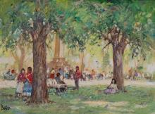 James Butler, The Plaza, Santa Fe