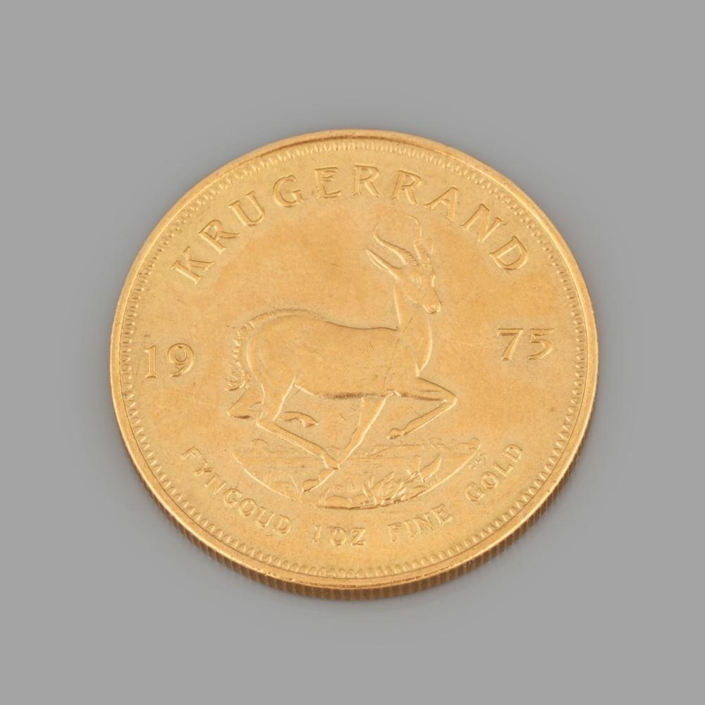 """Krugerrand"" gold coin"