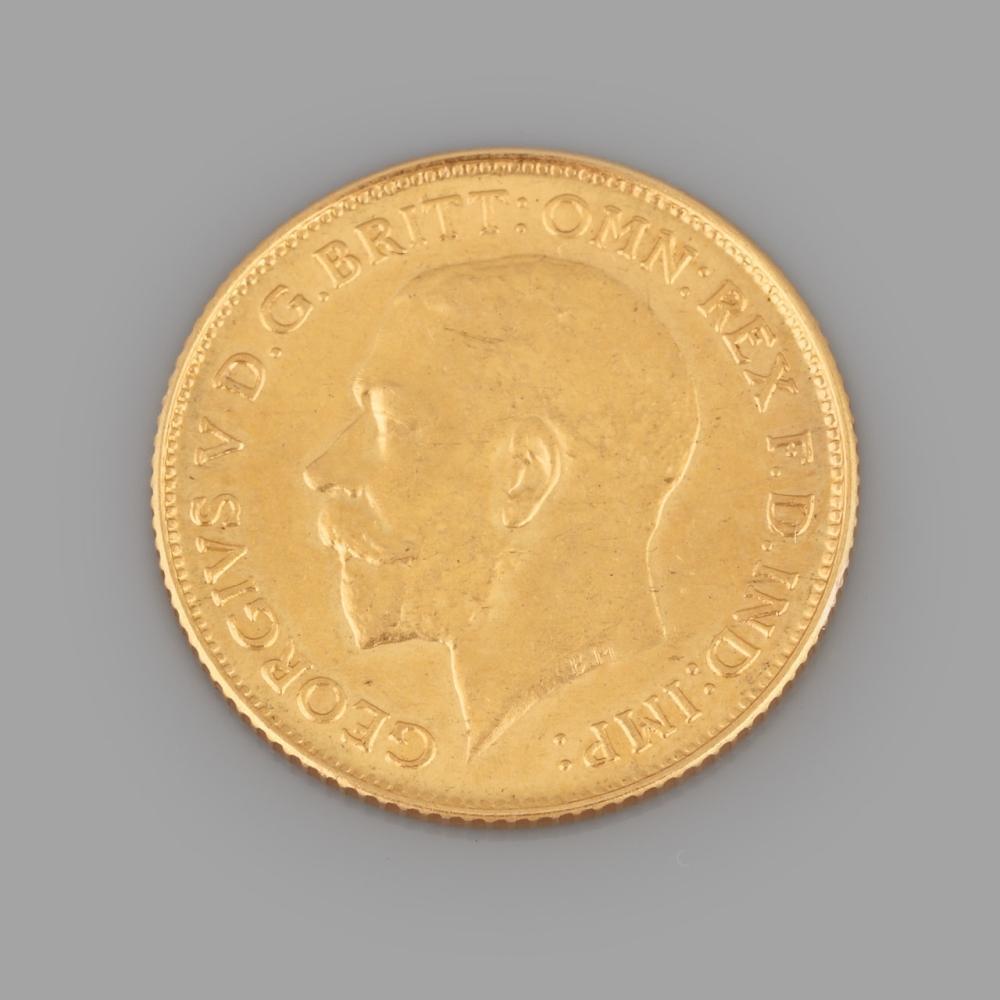 "1/2 Gold Pound ""George V"", 1914"
