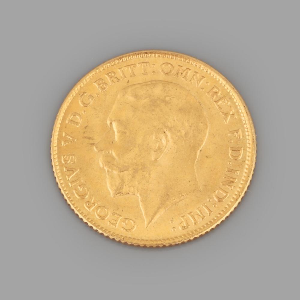 "1/2 Gold Pound ""George V"", 1915"