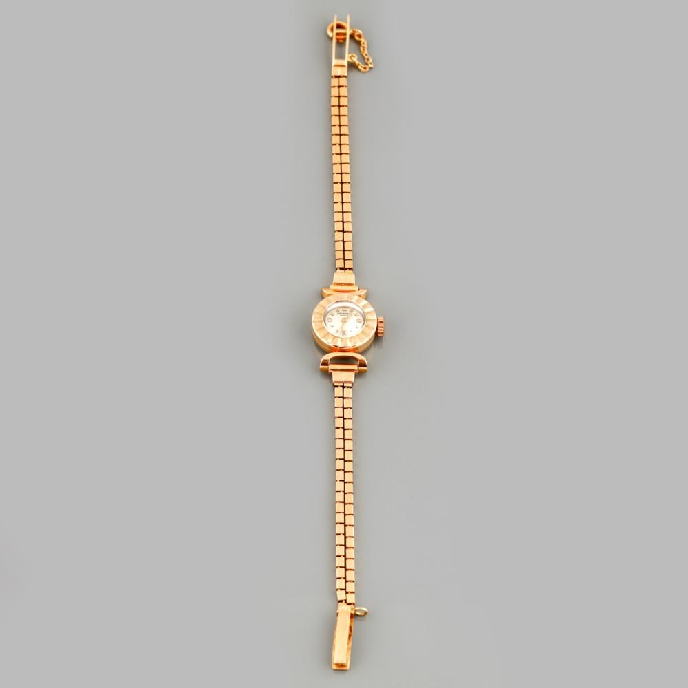 """Universal Geneve"" ladies' wristwatch in gold"