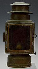 Copper Kerosene Carriage Lamp