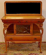 R.J. Horner Oak Sideboard