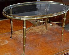 Mid Centruy Modern Regency Style Coffee Table
