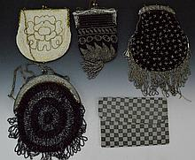 Vintage Beaded Purse Grouping