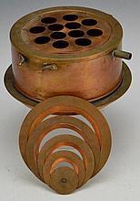 A.H.T. Co. Antique Copper Test Tube Heater