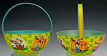 J. Chein Japanese TIn Litho Baskets