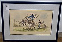 Leopoldo Torres Aguero Watercolor Born 1924