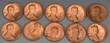 Off Center Lincoln Cent Error Grouping (10-20%)