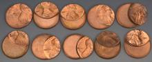 Off Center Lincoln Cent Error Grouping (50%)