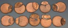 Off Center Lincoln Cent Error Grouping (75%+)