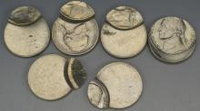 Off Center or Double Struck Nickel Grouping