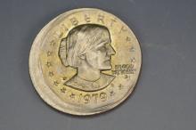 Susan B. Anthony Off Center Error Coin