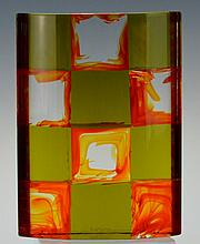 Carlo Moretti Solid Glass, Signed and Numbered