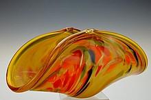 Murano, Italy Hand-crafted Art Glass, Cornocopia