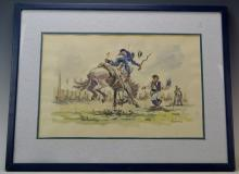 Leopoldo Torres Aguero Watercolor (1924-96)