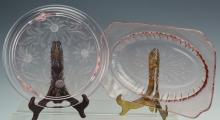 Pink Depression Glass Grouping