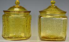 Yellow Depression Glass Grouping