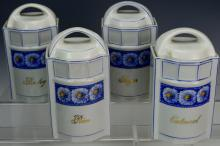 German Porcelain Canister Set
