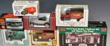 Grouping of Replica Vintage Car and Truck Banks