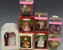 Barbie Ornament Grouping