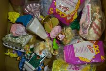 Barbie Happy Meal Toy Grouping