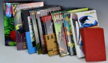 Marvel and DC Hardcover Book Grouping