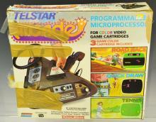 Vintage Coleco Telstar Arcade Video Game System