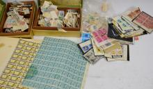 Vintage Stamps Grouping