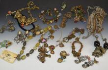 Costume Jewelry Grouping