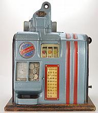 Vintage Columbia Nickel Slot Machine