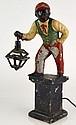 Painted Lawn Jockey Lamp