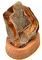 Agate Geode with Druzy, Brazil