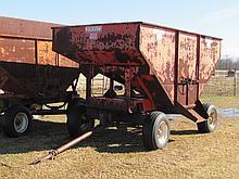 Ficklin mod 300 175 bushel gravity flow wagon