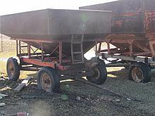 Ficklin 150 bushel gravity flow wagon