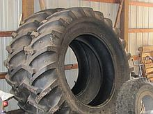 Pair of new 20.8 x 38 tractor tires
