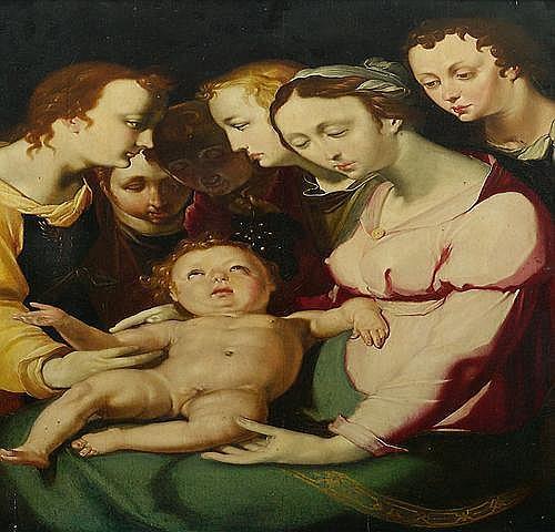 CORNELIS CORNELISZ. VAN HAARLEM (1562 Haarlem -