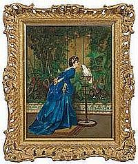 Auguste Toulmouche (1829 Nantes - 1890 Paris)