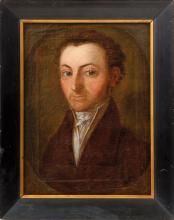 Portrait of a Gentleman of the Biedermeier Period, perhaps the young E.T.A. Hoffmann