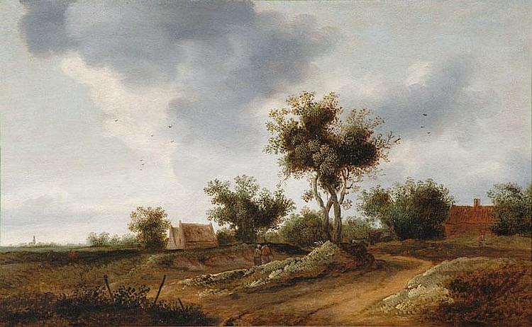 Coelenbier, Jan van - zugeschrieben - Holländische Landschaft