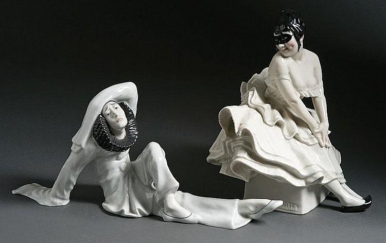 Bartels, Wera von - Pierrot und Pierrette