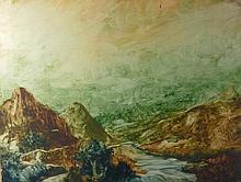Nüsslein, Heinrich—Flusslandschaft—(Nürnberg 1879-